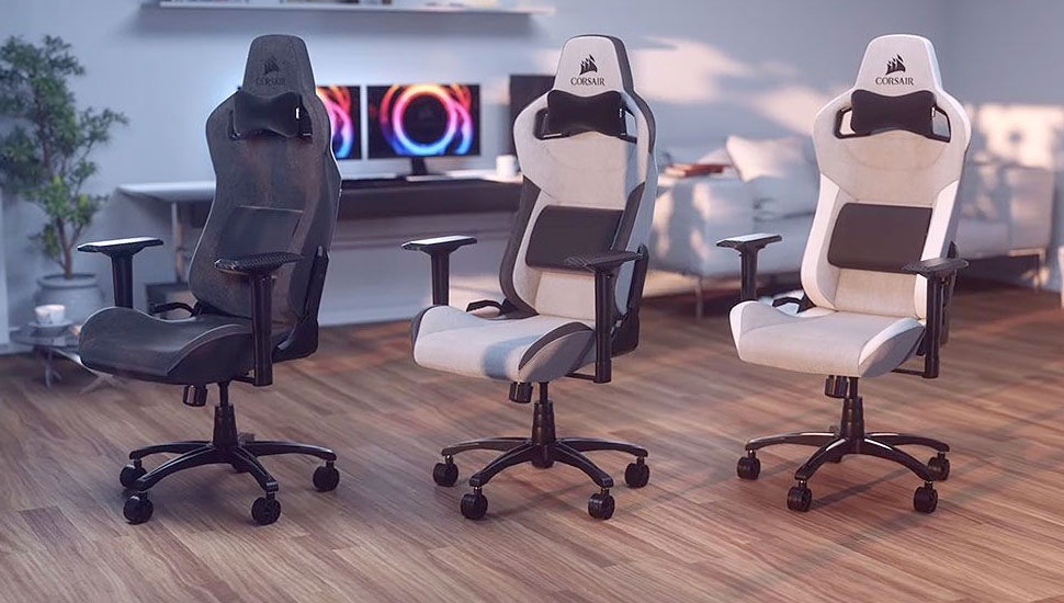 Corsair T3 Rush   Top Computer Gaming Chairs For PC Gamers