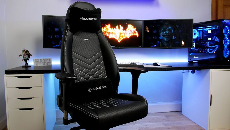Noblechairs Epic Black Edition   Top Computer Gaming Chairs For PC Gamers