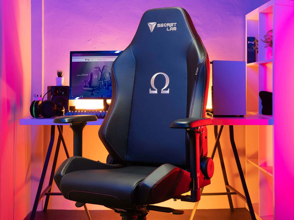 Secretlab Omega Series Best Gaming Chair | Top Computer Gaming Chairs For PC Gamers
