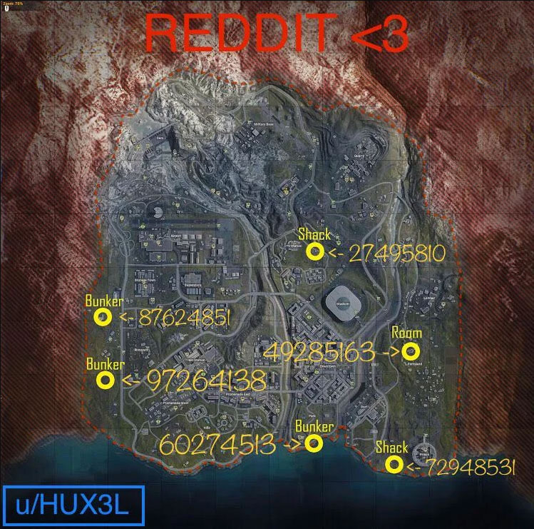 Warzone Bunkers Locations   Call of Duty Warzone: All Loot-Filled Bunkers Locations & Codes